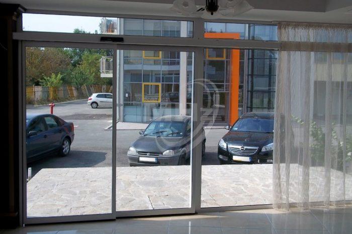 Porta de vidro Automatica Telescopica