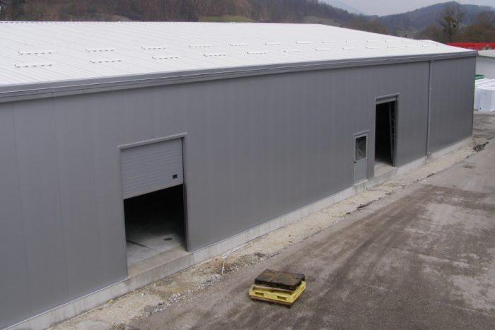 Portão Seccionado Industrial