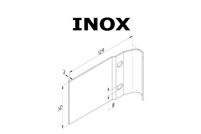 Abraçadeira em Inox