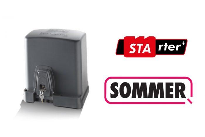 MOTOR DE CORRER SOMMER STARTER +